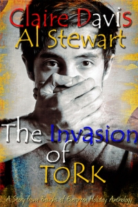 The invasion of Tork book cover