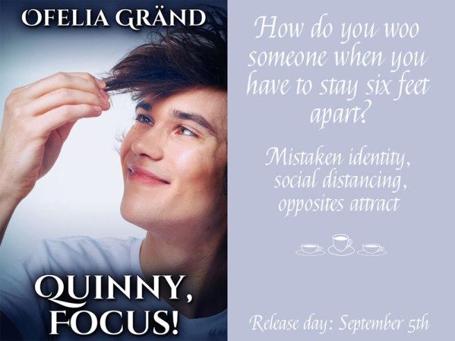 Quinny, Focus! Cover