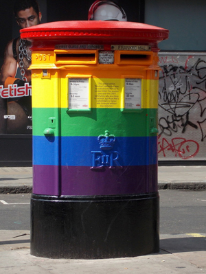 London pride postbox