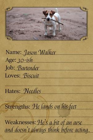 Character card - Jason