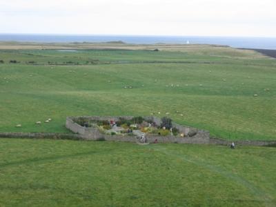 Lindisfarne walled garden