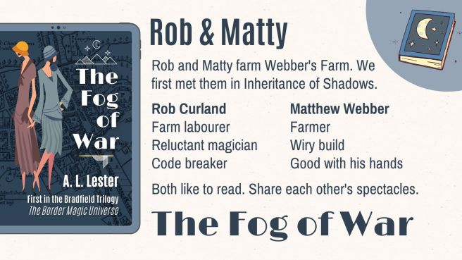 Rob and Matty